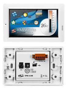 Pantalla HMI con PLC integrado