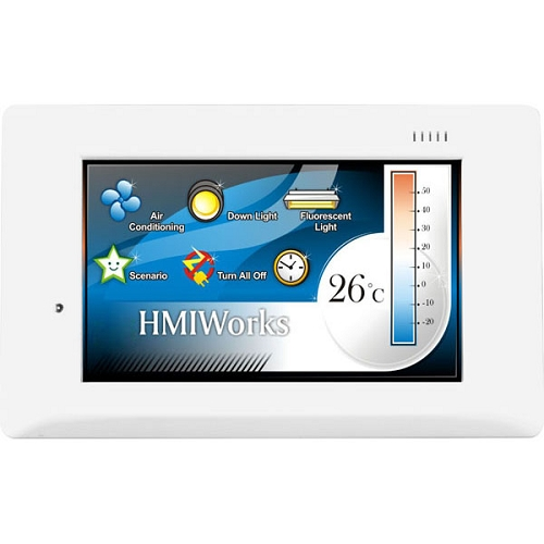 TPD-433F: Dispositivo HMI touchscreen de 4.3""
