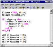 Structured Text Editor