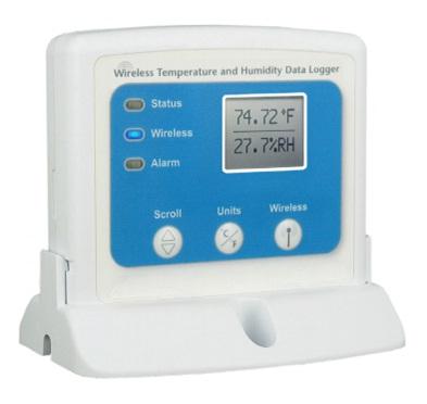 Registrador de temperatura y humedad inalámbrico