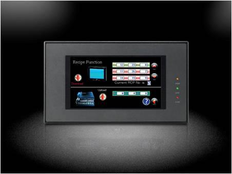 """Pantalla HMI con touchscreen de 4.3"""" con soporte para Ethernet LBMT504220TE"""