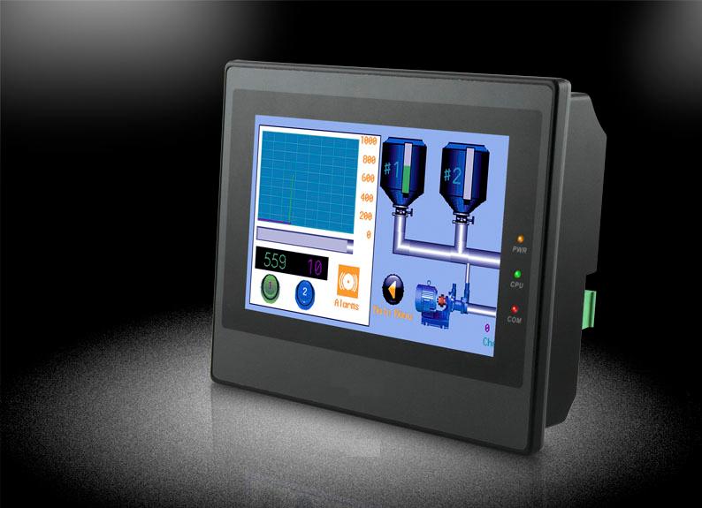 """Pantalla HMI a color touchscreen de 7"""" con soporte para Ethernet LBMT504414T"""